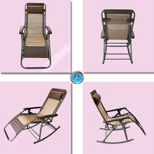 The folding rocking chair a good present for elder