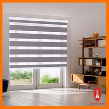 Curtain times shading day and night blinds zebra sheer blind for decaration