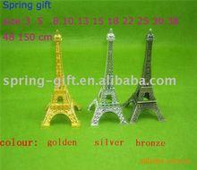 francia de la torre eiffel con la decoración de diamantes