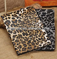 Leopard Style Book Flip Leather Case Cover for iPad Air Case iPad 5 Leather Case
