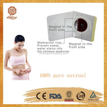 No side effect weight reducing Chinese natural slim patch/weight loss patch