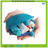 Eco-friendly material silicone cosmetic bag wallet free sample available for promotional use