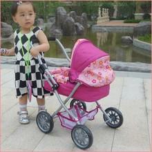 2014 fabbrica di porcellana bambola giocattolo baby doll passeggino ruote