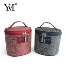 2015 fashion luxury elegant promotional wholesale Jacquard make up fashion cosmetic bag