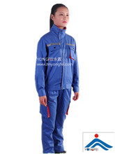Contrast Color Cotton Welding Jacket and Pants