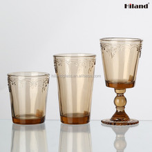 Wholesale colored drinking glass