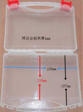 clear plastic tool box,waterproof poratable tool carry case