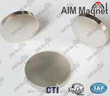 Small Disc Magnet/ndfeb magnetic disc/Super Power N35-N52 Zn coating