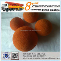 2014 SGS High Quality pipe cleaning sponge ball