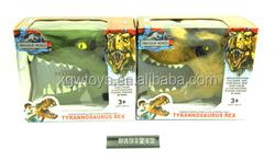 Evade glue Hand puppets,soft plastic simulation dinosaur head