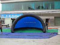blue enchantress inflatable tent dome