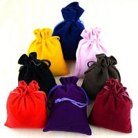 Mini Personalized velvet gift bags
