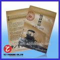 jeringas de envases& de plástico a prueba de agua bolsa/tabaco bolsa de plástico con cierre de cremallera