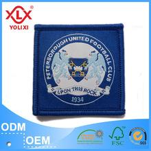 High brightness woven badges for garment