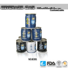 2013 new soft drink tin cans high quality and inexpensive