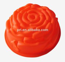 de silicona de calidad alimentaria aumentó pastel de chocolate moldes cocina cocinero herramientas proveedor