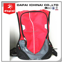 Women Red 2L Cycling Bladder Water Backpack Hydration Pack