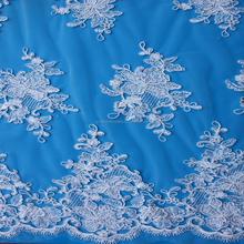 2015 bordados rendas tule francês lace bordados / elástico rendas química tecido bordado para vestido de noiva atacado
