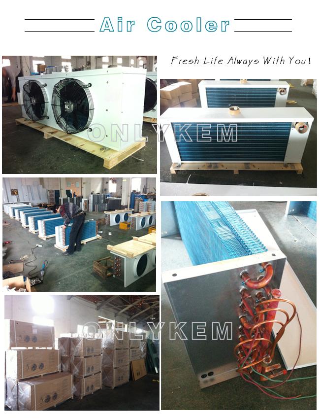 R404a refroidi par air u00e9vaporateur industriel pour cold storage ...