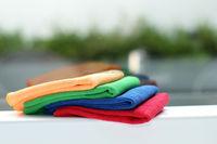 30*30CM Microfiber terry fabric