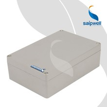 Factory Supply Good Quality Aluminium Material IP67 waterproof electrical outlet box 240*160*75mm