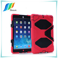 Shockproof heavy duty for ipad stand case cover