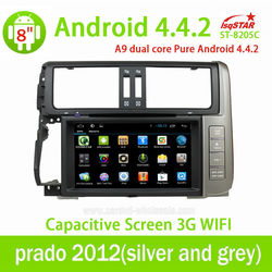 Android 4.4 car Auto radio gps for Hyundai santa fe 2010-2012 with3G Wifi DVD GPS Bluetooth OBD mirror link TPMS function