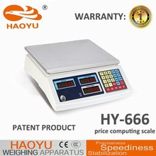 economic OEM digit patented double frame electronic acs price computing scale