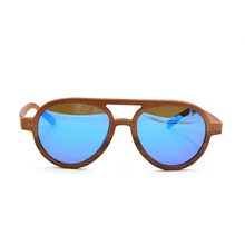 Wooden Sunglasses With Case, UV400 Polarized Lens Sunglasses Factory
