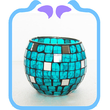 2015 Newest Fashion Customized Mosaic Glass Candle Holder