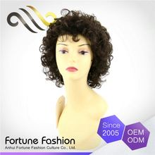 Original Brand Promotional Price No Shedding No Tangle May Hair Natural Kamo Knots Lace Wigs Short