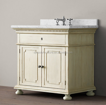 antique french rustic white bathroom furniture