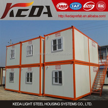 fashion design prefab shipping container for workers camp