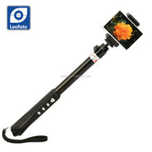 Hot sell extendable handed Selfie stick with Bluetooth in the handle for smart phone and go pro-Leofoto QP940R
