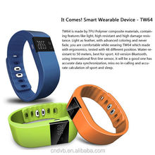 2015 TW64 product smart watch bracelet health sleep monitoring/walking/drinking/calorie