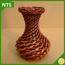 Brown Cheap Cane Wicker Baskets for Flower