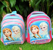 stp29-1 frozen backpack anna / elsa frozen school bag 2-8 age usd2.98-5.98/pc exw price if need 5pcs sample sell