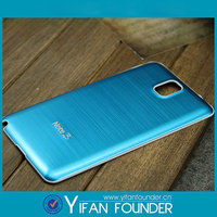 Back Phone Cover Shell Protector Hard Brushed Aluminum Metal Case for Samsung Galaxy Note 3 N9000