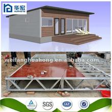 New design comfortable cheap prefab fast assemble homes wooden house