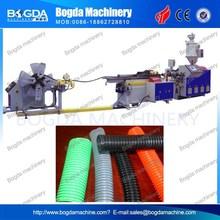 PVC Flexible Pipe Corrugated Pipe Machine Made in China