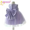 new model children casual dresses party fancy dresses for baby girl korean flower design for 2-8years old