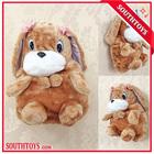 cartoon crianças mochila de pelúcia brinquedos do cão atacado