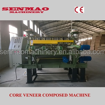 engineer wood core veneer joint/ plywood core veneer compose machine ...
