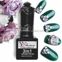 High pure raw material 100% gel polish UV/LED one step gel nail polish