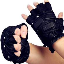 new products safety equipment motorcycle leather finger gloves/ military gloves/ leather gloves without finger