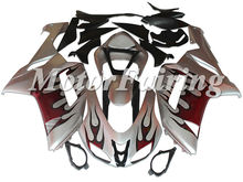 Heavy metal Motorcycle Body kits for ZX-6R 05-06 fairing kits aftermarket motorcycle parts for Kawasaki EX-6R 2005-2006 style