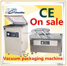 double chamber vacuum packaging machine for wholesales sea food meat SH-400/2SA