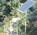 300 vatios de paneles solares