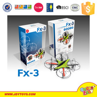 New top selling Fineco plastic toy rc 4ch aircraft UFO Automatic RC aircraft 360 flips with one touch toy