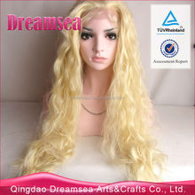#613 color body wave100% synthetic lace front wig